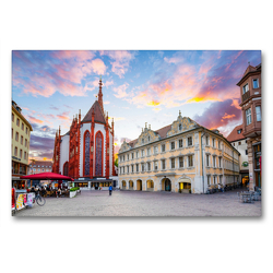 Premium Textil-Leinwand 90 x 60 cm Quer-Format Bayern Impressionen | Wandbild, HD-Bild auf Keilrahmen, Fertigbild auf hochwertigem Vlies, Leinwanddruck von Dirk Meutzner