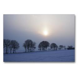 Premium Textil-Leinwand 90 x 60 cm Quer-Format Blaue Stunde   Wandbild, HD-Bild auf Keilrahmen, Fertigbild auf hochwertigem Vlies, Leinwanddruck von Tanja Riedel