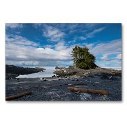 Premium Textil-Leinwand 90 x 60 cm Quer-Format Botany Bay | Wandbild, HD-Bild auf Keilrahmen, Fertigbild auf hochwertigem Vlies, Leinwanddruck von Rolf Dietz