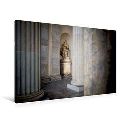 Premium Textil-Leinwand 90 x 60 cm Quer-Format Brandenburger Tor | Wandbild, HD-Bild auf Keilrahmen, Fertigbild auf hochwertigem Vlies, Leinwanddruck von Ingo Gerlach von Gerlach,  Ingo