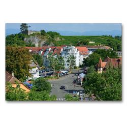 Premium Textil-Leinwand 90 x 60 cm Quer-Format Breisach am Rhein   Wandbild, HD-Bild auf Keilrahmen, Fertigbild auf hochwertigem Vlies, Leinwanddruck von Dieter-M. Wilczek