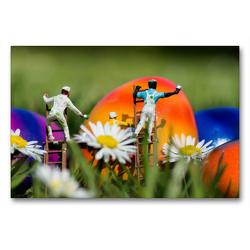 Premium Textil-Leinwand 90 x 60 cm Quer-Format Deutschland. Bochum Langendreer | Wandbild, HD-Bild auf Keilrahmen, Fertigbild auf hochwertigem Vlies, Leinwanddruck von Andreas Konieczka