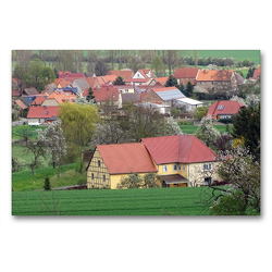 Premium Textil-Leinwand 90 x 60 cm Quer-Format Donndorf | Wandbild, HD-Bild auf Keilrahmen, Fertigbild auf hochwertigem Vlies, Leinwanddruck von Flori0