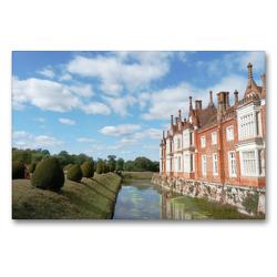 Premium Textil-Leinwand 90 x 60 cm Quer-Format East Anglia Englands wunderschöner Osten | Wandbild, HD-Bild auf Keilrahmen, Fertigbild auf hochwertigem Vlies, Leinwanddruck von Gisela Kruse