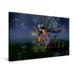 Premium Textil-Leinwand 90 x 60 cm Quer-Format Elfenlichter | Wandbild, HD-Bild auf Keilrahmen, Fertigbild auf hochwertigem Vlies, Leinwanddruck von Andrea Tiettje