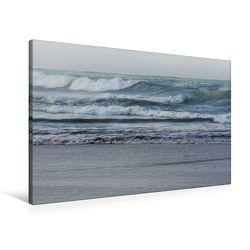 Premium Textil-Leinwand 90 x 60 cm Quer-Format Emotionale Momente: Meeresrauschen | Wandbild, HD-Bild auf Keilrahmen, Fertigbild auf hochwertigem Vlies, Leinwanddruck von Ingo Gerlach GDT von Gerlach GDT,  Ingo