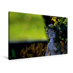Premium Textil-Leinwand 90 x 60 cm Quer-Format Engel-Kalender mit Zitaten / CH-Version | Wandbild, HD-Bild auf Keilrahmen, Fertigbild auf hochwertigem Vlies, Leinwanddruck von Tanja Riedel von Riedel,  Tanja