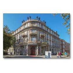 Premium Textil-Leinwand 90 x 60 cm Quer-Format Ephraim Palais   Wandbild, HD-Bild auf Keilrahmen, Fertigbild auf hochwertigem Vlies, Leinwanddruck von ReDi Fotografie