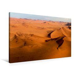 Premium Textil-Leinwand 90 x 60 cm Quer-Format Flug über Namibia | Wandbild, HD-Bild auf Keilrahmen, Fertigbild auf hochwertigem Vlies, Leinwanddruck von Michael Voß von Voss,  Michael