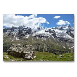 Premium Textil-Leinwand 90 x 60 cm Quer-Format Gasolari dell Herbetet | Wandbild, HD-Bild auf Keilrahmen, Fertigbild auf hochwertigem Vlies, Leinwanddruck von Johann Schörkhuber