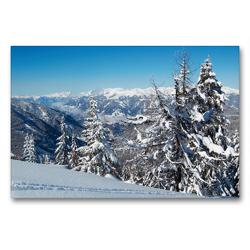 Premium Textil-Leinwand 90 x 60 cm Quer-Format Goldeck   Wandbild, HD-Bild auf Keilrahmen, Fertigbild auf hochwertigem Vlies, Leinwanddruck von Martin Rauchenwald