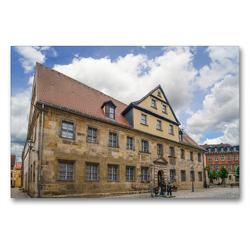 Premium Textil-Leinwand 90 x 60 cm Quer-Format Historisches Museum Bayreuth   Wandbild, HD-Bild auf Keilrahmen, Fertigbild auf hochwertigem Vlies, Leinwanddruck von Dirk Meutzner