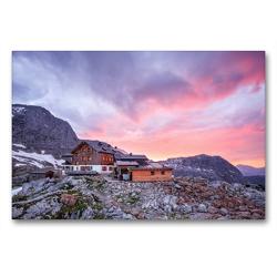 Premium Textil-Leinwand 90 x 60 cm Quer-Format Ingolstädter Haus (2.120m), Österreich   Wandbild, HD-Bild auf Keilrahmen, Fertigbild auf hochwertigem Vlies, Leinwanddruck von Gerhard Aust