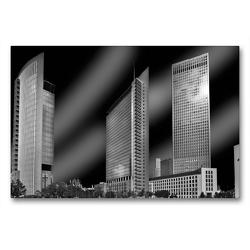 Premium Textil-Leinwand 90 x 60 cm Quer-Format Kastor Pollux Tower 185 | Wandbild, HD-Bild auf Keilrahmen, Fertigbild auf hochwertigem Vlies, Leinwanddruck von Petrus Bodenstaff