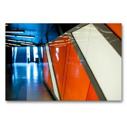 Premium Textil-Leinwand 90 x 60 cm Quer-Format Körnerstraße Köln – Ehrenfeld | Wandbild, HD-Bild auf Keilrahmen, Fertigbild auf hochwertigem Vlies, Leinwanddruck von Patricia Ahrens