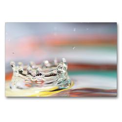 Premium Textil-Leinwand 90 x 60 cm Quer-Format Krone | Wandbild, HD-Bild auf Keilrahmen, Fertigbild auf hochwertigem Vlies, Leinwanddruck von Linda Geisdorf