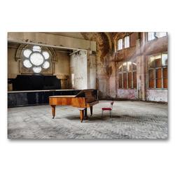 Premium Textil-Leinwand 90 x 60 cm Quer-Format Lost Places – Daylight | Wandbild, HD-Bild auf Keilrahmen, Fertigbild auf hochwertigem Vlies, Leinwanddruck von N N