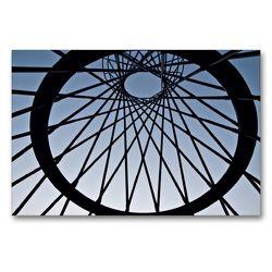 Premium Textil-Leinwand 90 x 60 cm Quer-Format Mae West I | Wandbild, HD-Bild auf Keilrahmen, Fertigbild auf hochwertigem Vlies, Leinwanddruck von Martina Marten