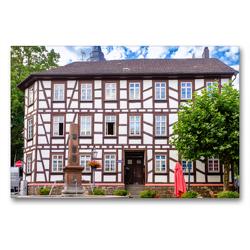 Premium Textil-Leinwand 90 x 60 cm Quer-Format Marktplatz | Wandbild, HD-Bild auf Keilrahmen, Fertigbild auf hochwertigem Vlies, Leinwanddruck von Markus W. Lambrecht