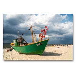 Premium Textil-Leinwand 90 x 60 cm Quer-Format Misdroy | Wandbild, HD-Bild auf Keilrahmen, Fertigbild auf hochwertigem Vlies, Leinwanddruck von Peter Schickert
