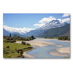 Premium Textil-Leinwand 90 x 60 cm Quer-Format Mount Alfred   Wandbild, HD-Bild auf Keilrahmen, Fertigbild auf hochwertigem Vlies, Leinwanddruck von frasy Photography