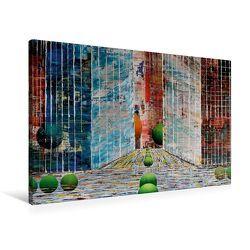 Premium Textil-Leinwand 90 x 60 cm Quer-Format New Yorker Satdtschlucht | Wandbild, HD-Bild auf Keilrahmen, Fertigbild auf hochwertigem Vlies, Leinwanddruck von Gerhard Kraus