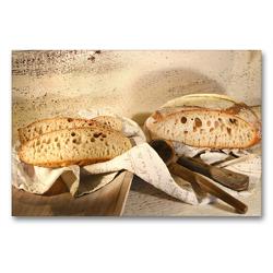 Premium Textil-Leinwand 90 x 60 cm Quer-Format olaolafood.blog/2019/03/20/trevors-kanadier/ | Wandbild, HD-Bild auf Keilrahmen, Fertigbild auf hochwertigem Vlies, Leinwanddruck von N N