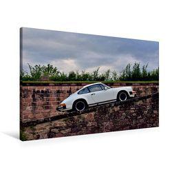 Premium Textil-Leinwand 90 x 60 cm Quer-Format Porsche 911SC – zwei starke Typen   Wandbild, HD-Bild auf Keilrahmen, Fertigbild auf hochwertigem Vlies, Leinwanddruck von Ingo Laue
