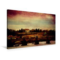 Premium Textil-Leinwand 90 x 60 cm Quer-Format Prager Stillleben | Wandbild, HD-Bild auf Keilrahmen, Fertigbild auf hochwertigem Vlies, Leinwanddruck von Heike Hultsch von Hultsch,  Heike