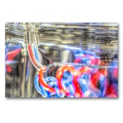 Premium Textil-Leinwand 90 x 60 cm Quer-Format Reinigen mit Hochdruck | Wandbild, HD-Bild auf Keilrahmen, Fertigbild auf hochwertigem Vlies, Leinwanddruck von Lensviper