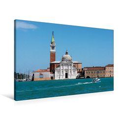 Premium Textil-Leinwand 90 x 60 cm Quer-Format S.Giorgio Maggiore | Wandbild, HD-Bild auf Keilrahmen, Fertigbild auf hochwertigem Vlies, Leinwanddruck von Thomas Jäger