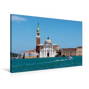 Premium Textil-Leinwand 90 x 60 cm Quer-Format S.Giorgio Maggiore   Wandbild, HD-Bild auf Keilrahmen, Fertigbild auf hochwertigem Vlies, Leinwanddruck von Thomas Jäger