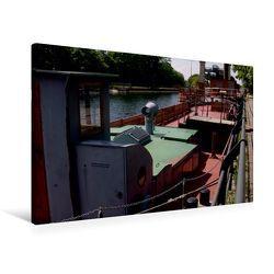 Premium Textil-Leinwand 90 x 60 cm Quer-Format Schiffshebewerk   Wandbild, HD-Bild auf Keilrahmen, Fertigbild auf hochwertigem Vlies, Leinwanddruck von Uwe Bernds von Bernds,  Uwe