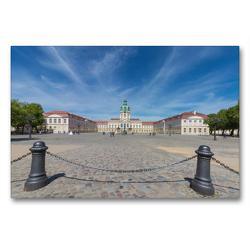 Premium Textil-Leinwand 90 x 60 cm Quer-Format Schloss Charlottenburg | Wandbild, HD-Bild auf Keilrahmen, Fertigbild auf hochwertigem Vlies, Leinwanddruck von ReDi Fotografie