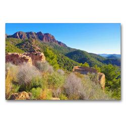 Premium Textil-Leinwand 90 x 60 cm Quer-Format Segart Castello | Wandbild, HD-Bild auf Keilrahmen, Fertigbild auf hochwertigem Vlies, Leinwanddruck von LianeM