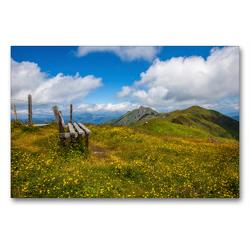 Premium Textil-Leinwand 90 x 60 cm Quer-Format Setz dich nieder und werde ruhig | Wandbild, HD-Bild auf Keilrahmen, Fertigbild auf hochwertigem Vlies, Leinwanddruck von Christa Kramer