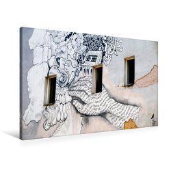 Premium Textil-Leinwand 90 x 60 cm Quer-Format Streetart | Wandbild, HD-Bild auf Keilrahmen, Fertigbild auf hochwertigem Vlies, Leinwanddruck von Helene Seidl von Seidl,  Helene
