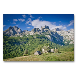 Premium Textil-Leinwand 90 x 60 cm Quer-Format Tag 10: Über Çeremi | Wandbild, HD-Bild auf Keilrahmen, Fertigbild auf hochwertigem Vlies, Leinwanddruck von © binauftour