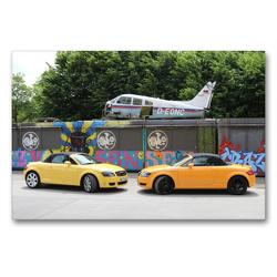 Premium Textil-Leinwand 90 x 60 cm Quer-Format TT 8N Roadster | Wandbild, HD-Bild auf Keilrahmen, Fertigbild auf hochwertigem Vlies, Leinwanddruck von SchnelleWelten