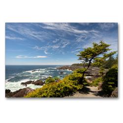 Premium Textil-Leinwand 90 x 60 cm Quer-Format Ucluelet, Vancouver Island / British Columbia | Wandbild, HD-Bild auf Keilrahmen, Fertigbild auf hochwertigem Vlies, Leinwanddruck von Georg Beck