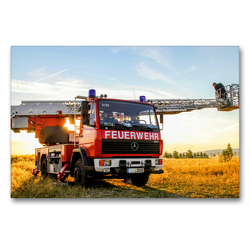 Premium Textil-Leinwand 90 x 60 cm Quer-Format Waldbrandbeobachtung   Wandbild, HD-Bild auf Keilrahmen, Fertigbild auf hochwertigem Vlies, Leinwanddruck von Steffani Lehmann (Hrsg.)