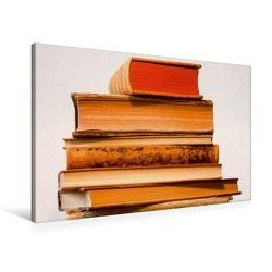 Premium Textil-Leinwand 90 x 60 cm Quer-Format Welt der Bücher | Wandbild, HD-Bild auf Keilrahmen, Fertigbild auf hochwertigem Vlies, Leinwanddruck von Thomas Jäger von Jaeger,  Thomas