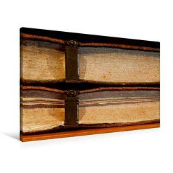 Premium Textil-Leinwand 90 x 60 cm Quer-Format Welt der Bücher | Wandbild, HD-Bild auf Keilrahmen, Fertigbild auf hochwertigem Vlies, Leinwanddruck von Thomas Jäger