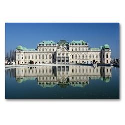 Premium Textil-Leinwand 90 x 60 cm Quer-Format Wien eine Hauptstadt mit Flair | Wandbild, HD-Bild auf Keilrahmen, Fertigbild auf hochwertigem Vlies, Leinwanddruck von Rufotos
