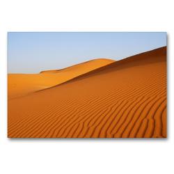 Premium Textil-Leinwand 90 x 60 cm Quer-Format Wüste in Erg Chebbi | Wandbild, HD-Bild auf Keilrahmen, Fertigbild auf hochwertigem Vlies, Leinwanddruck von Askson Vargard