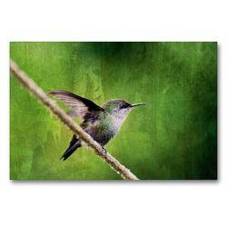Premium Textil-Leinwand 90 x 60 cm Quer-Format Zwergelfe | Wandbild, HD-Bild auf Keilrahmen, Fertigbild auf hochwertigem Vlies, Leinwanddruck von Nicole Bleck