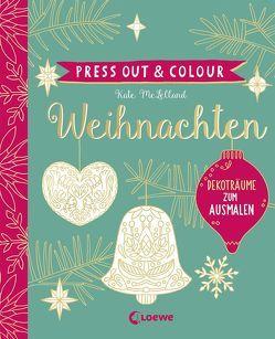 Press Out & Colour – Weihnachten von McLelland,  Kate
