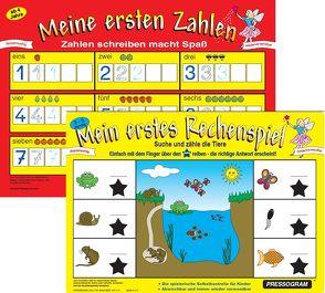 PRESSOGRAM Zaubertafel – Mein erstes Rechenspiel von Stubenrauch,  Bernhard