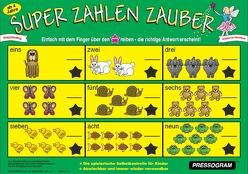PRESSOGRAM Zaubertafel – Super Zahlen Zauber von Stubenrauch,  Bernhard