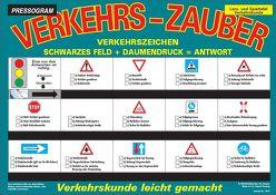 PRESSOGRAM Zaubertafel – Verkehrszeichen von Stubenrauch,  Bernhard